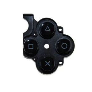 D-PAD Rubber για PSP 3004 μαύρο