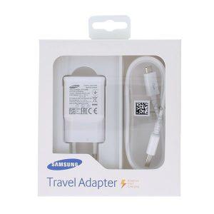 Φορτιστής Samsung Fast Travel Charger USB Micro USB EP-TA20EWE Λευκό