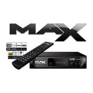 MAX T2 Επίγειος Ψηφιακός Δέκτης H.265 DVB-T2 HEVC MPEG4 FULL HD