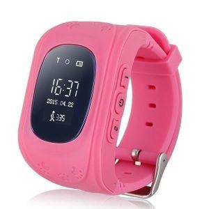 Παιδικό Ρολόι με GPS & Κουμπί Κλήσης SOS - T189 Ροζ - Βηματομετρητής