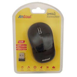 Ασύρματο ποντίκι Andowl AN-185 Mini 2.4Ghz 1600 DPI Χρυσό
