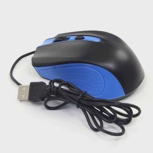 Ενσύρματο ποντίκι OMEGA OM05BL Μπλε μαύρο