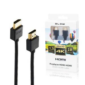 Καλώδιο Blow HDMI σε HDMI 2.0 4K High Speed 1.5 μέτρα