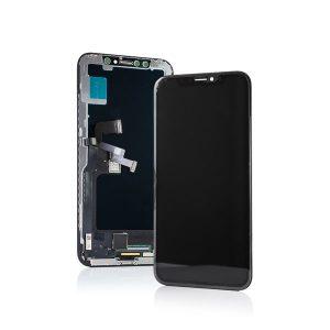 Hard Oled Οθόνη LCD με Μηχανισμό Αφής για iPhone X Μαύρη