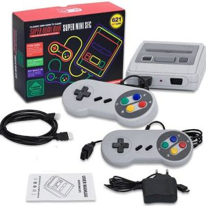 Ρετρό Κονσόλα Super NES SNES Mini με 621 Games