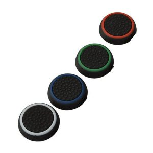 4σε 1 Grip σιλικόνης Analog Stick Cover Cap για ps4 PS3 XBOX 360