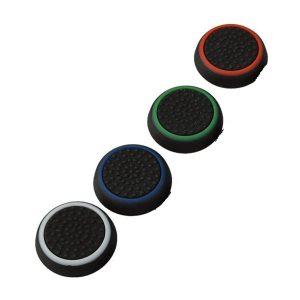 4σε 1 Grip σιλικόνης Analog Stick Cover Cap για ps4 PS3 XBOX 360