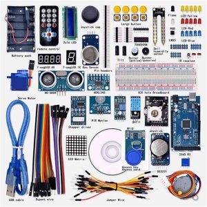 Mega2560 Starter Kit for 1602LCD RFID Relay module