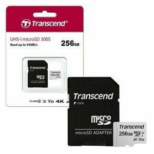 Transcend 300s microSDXC 256GB Class 10 U3 V30 A1