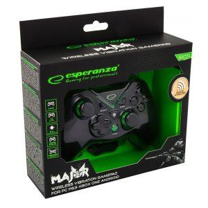 Ασύρματο χειριστήριο για PC/ PS3/ Xbox One/ Android Esperanza EGG112K wireless gamepad