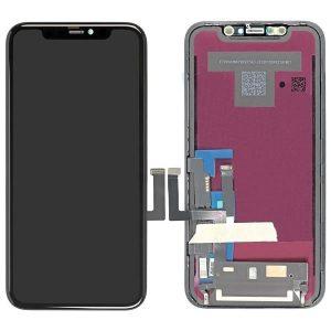 Οθόνη LCD με Μηχανισμό Αφής για Apple iPhone 11 Μαύρη (Tianma)