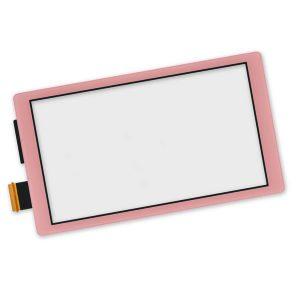 Γνήσια ανταλλακτική Οθόνη Αφής Touch Screen Digitizer για Nintendo Switch Lite- Ροζ