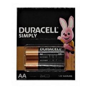 Μπαταρίες Duracell Simply AA (2τμχ)