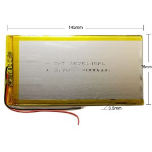 Universal μπαταρία tablet 3.7v 4000mAh 3575145
