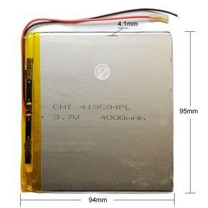 Universal μπαταρία tablet 3.7v 4000mAh 419594