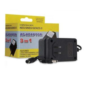 Τροφοδοτικό 3in1 AC Power Adapter 9V για Sega NES/ SNES/ GENESIS
