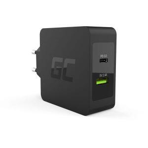 Φορτιστής Green Cell USB-C 45W PD USB, Type-C