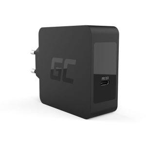 Φορτιστής Green Cell USB Type-C Wall Adapter για Apple MacBook Pro 13, Asus ZenBook, HP Spectre, Lenovo ThinkPad